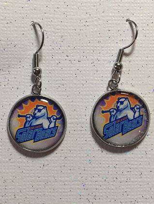 Orlando Solar Bears - Custom Earring