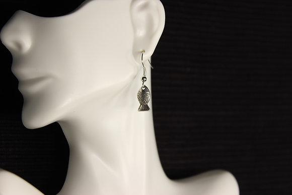 E-160054 Fish Small Silver