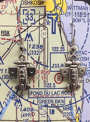 EA-160066 Stub Wing EAB Plane - Oshkosh card