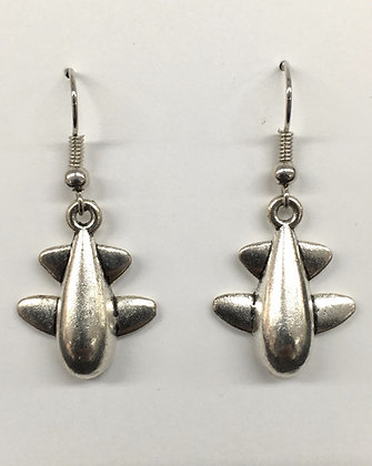 WEA-160010 (25) Small Guppy Earrings - 25% Off