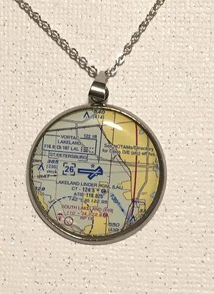 SA-2000001 Custom KLAL Chart epoxy necklace earring set