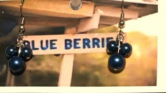 E-2000003 Blueberry cluster (3) earrings