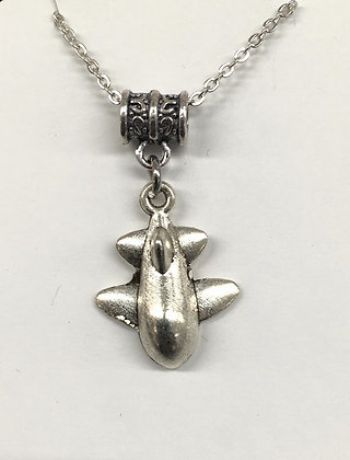 WNA-16001 (25) Small Guppy Plane Necklace - 25%