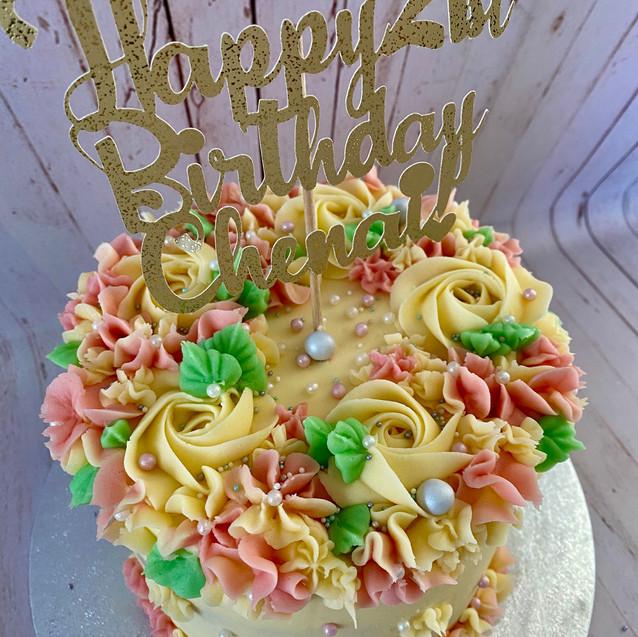 Chenai's Cake