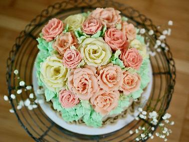 Butter, Sugar, Flower Basket Cake