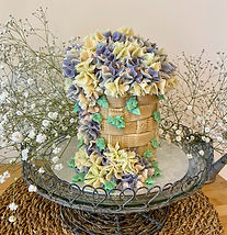 Butter, Sugar, Flower Floral Basket Cake