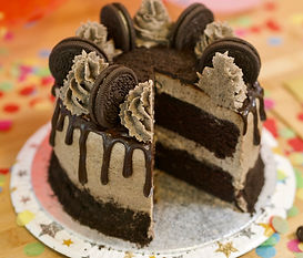 Butter, Sugar, Flower Decadent Oreo Cake