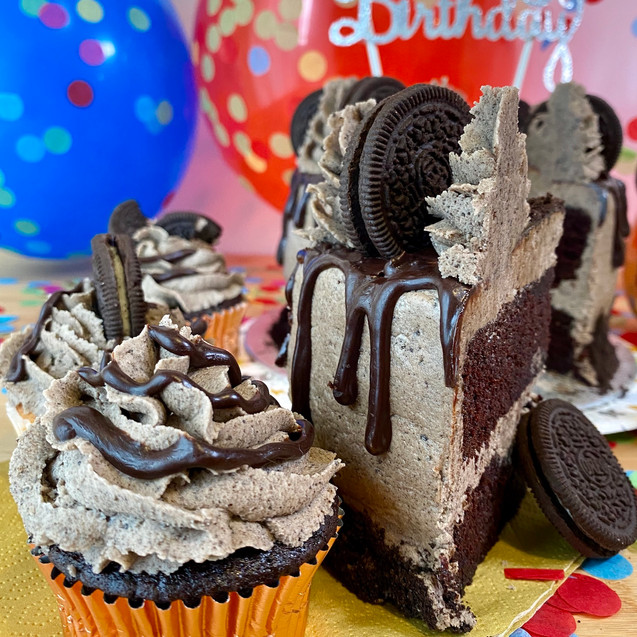 Decadent Oreo Cupcake
