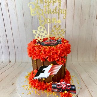 Custom F1 Cake