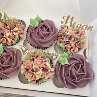 Pink/Purple florals