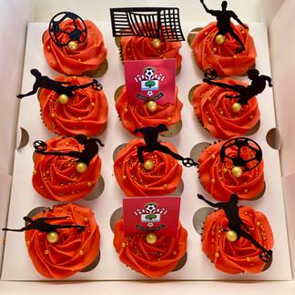 Southampton FC Cupcakes