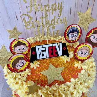 Custom FGTEEV Cake.