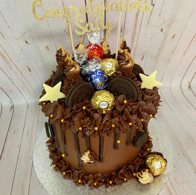 Six Inch Candy Cake