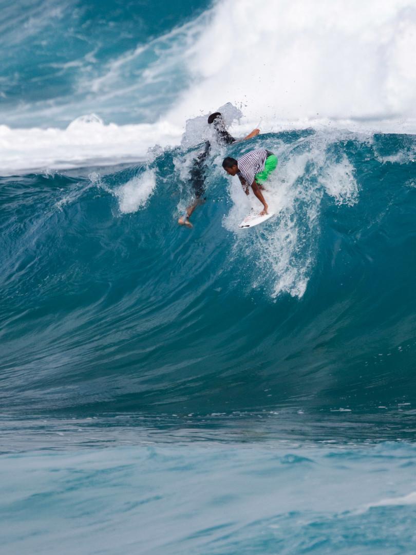 Big Drop northshore, hawaii