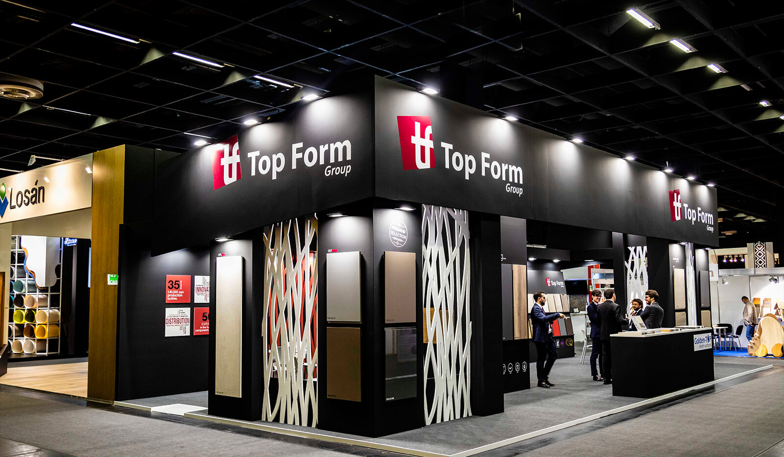 TopForm stand at Interzum Trade Fair (Cologne)