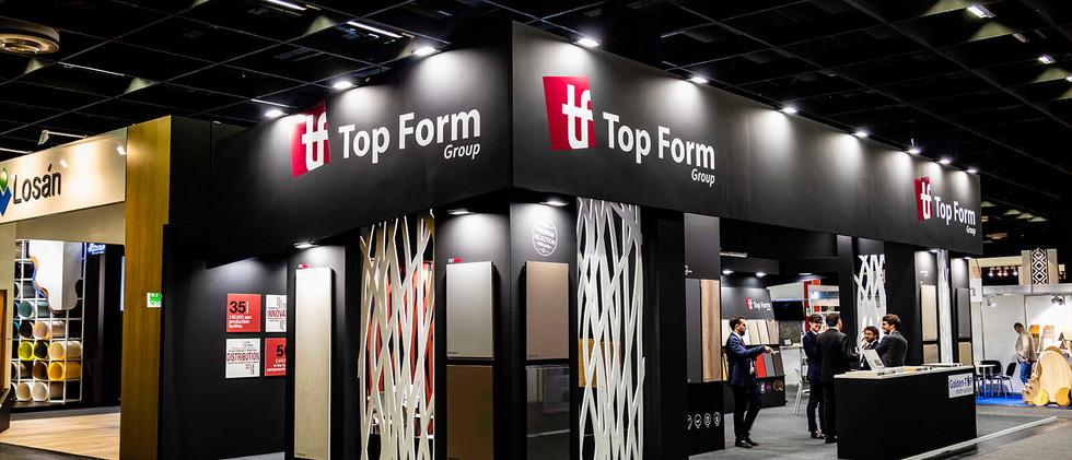 TopForm stand at Interzum Trade Fair (Cologne)