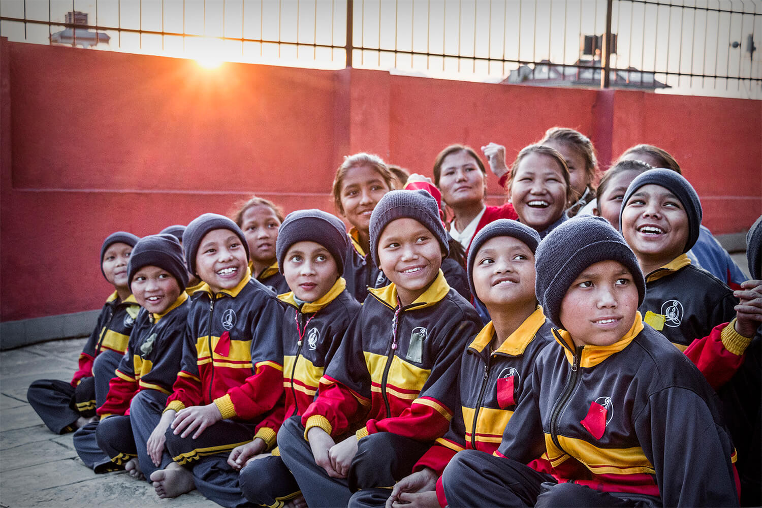 Children at an Orphanage in Nepal