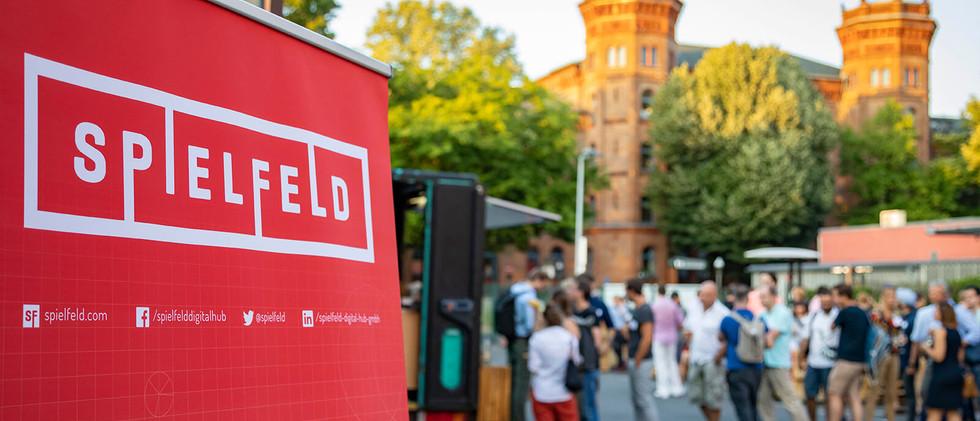 Visa event at Spielfeld (Berlin)
