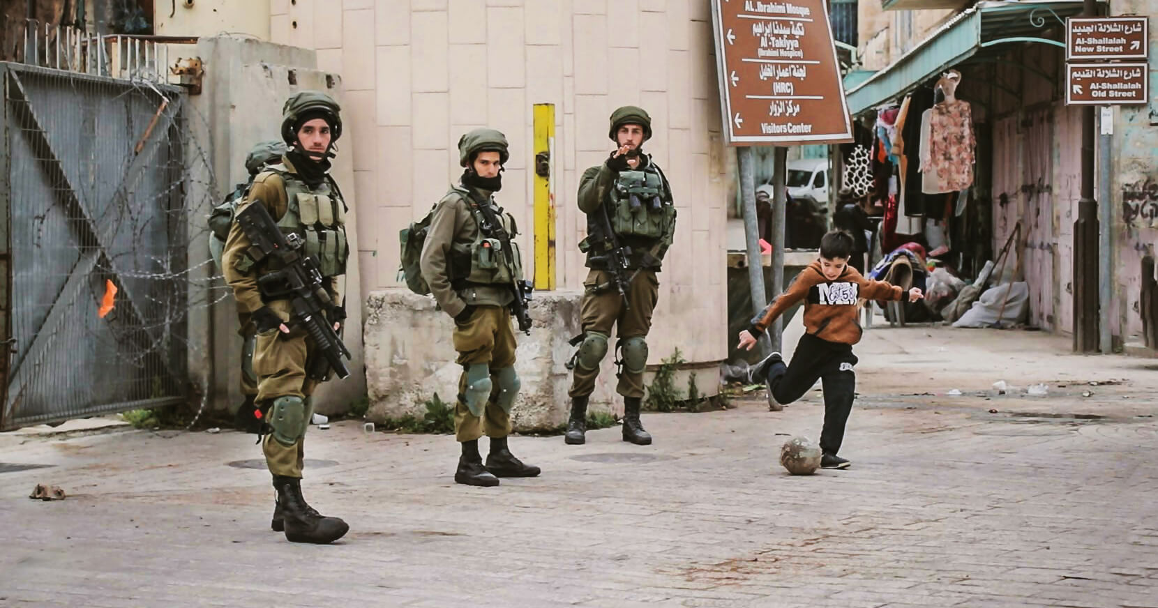 Hebron, Narrative Warfare