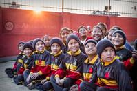 Orphanage sunset children.jpg