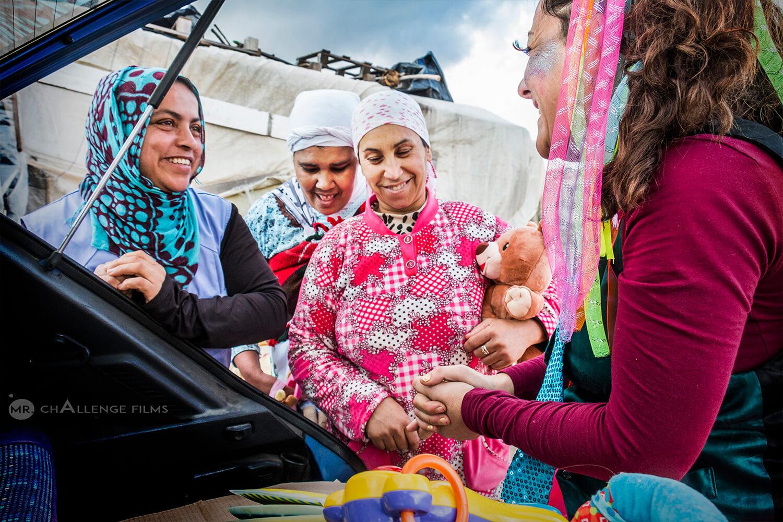 Muslim women at the Greenhouses in Almeria