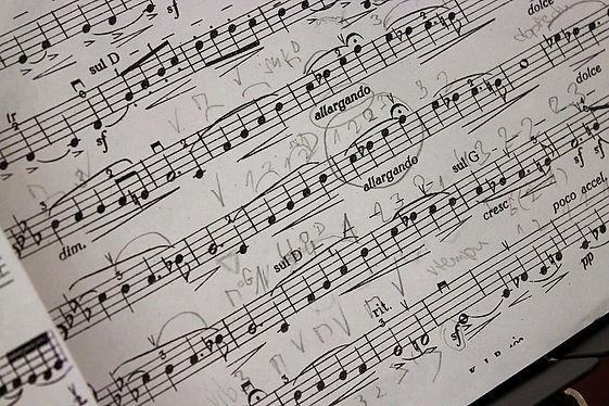 music-music-score-composition-treble-cle