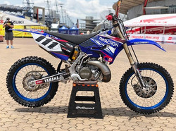 The _dirtactionmag YZ250 ready for _ham1