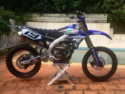 _nic_frayne's Yamaha YZ450F ready for th