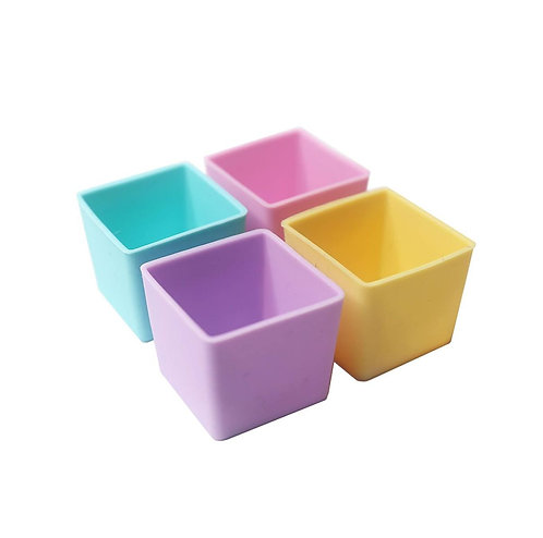 Munch Cups | Pastel Squares