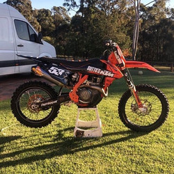 _codymcmahon353's KTM fitted with a full