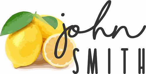 STICKER SET | Lemon