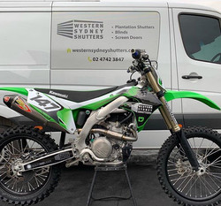 Custom graphics for _colb147's KX450 inc