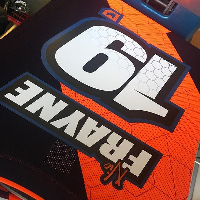Jersey print for _nic_frayne _#custom #jerseysprints #motokit #mx