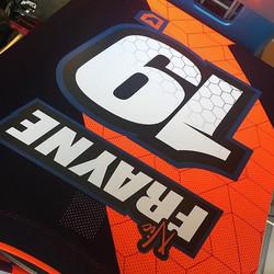 Jersey print for _nic_frayne _#custom #jerseysprints #motokit #mx