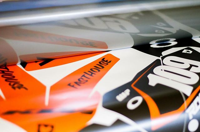 KTM graphics in production..