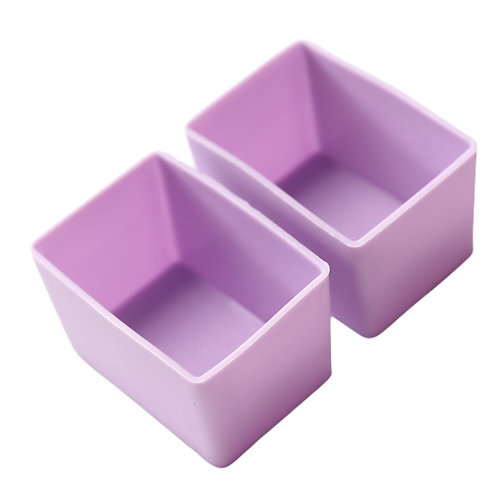 Munch Cups | Purple Rectangles