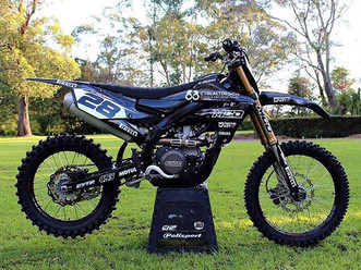 _t.rudd28's blacked-out YZ450F! _We are