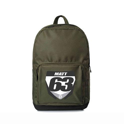 Custom Motocross Backpack - Army