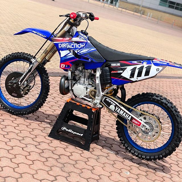 So pumped with how the _dirtactionmag YZ