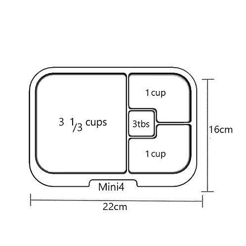 Trays | Mini 4 | Clear