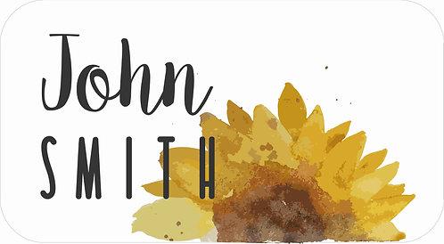 STICKER SET | Watercolour Sunflower