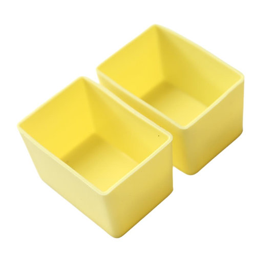 Munch Cups   Yellow Rectangles