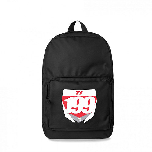 Custom Motocross Backpack - Black
