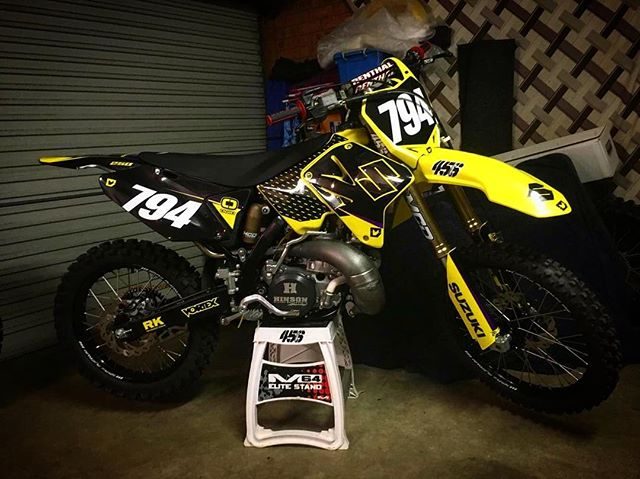 RM250 two-stroke we recently whipped up a kit for
