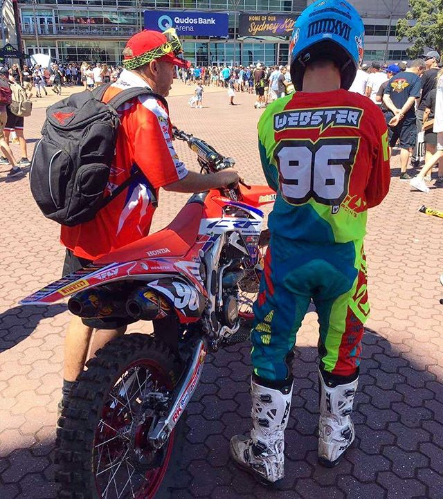 _kylewebster96 set to do battle at _ausxopen - so stoked to see him on the podium! #custom #jerseypr
