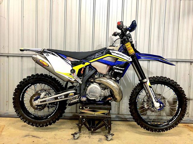 We gave this Sherco a facelift with a fu