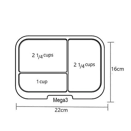 Trays | Mega 3 | Clear