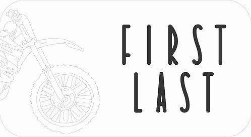 Iron Lables | Bike