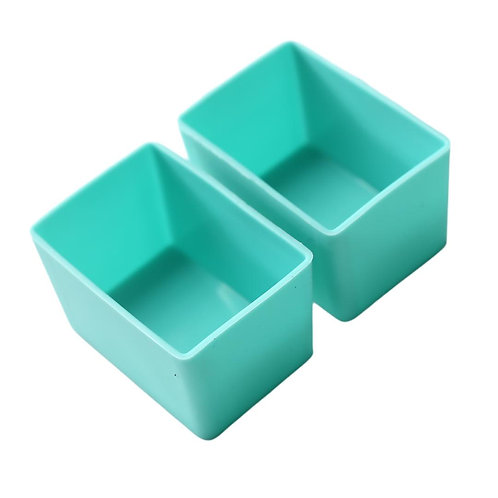 Munch Cups   Mint Rectangles