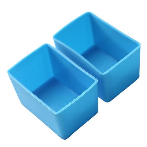 Munch Cups | Blue Rectangles